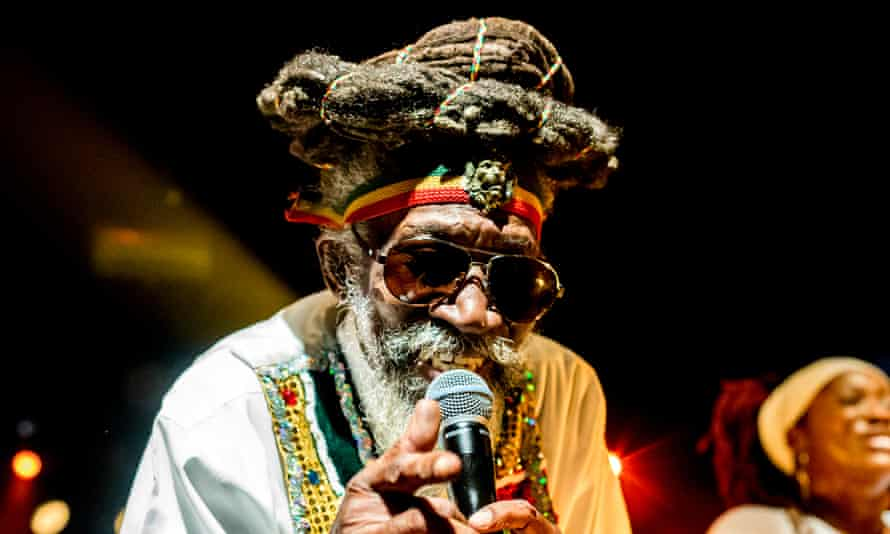 Signature sound ... Bunny Wailer performing in 2016.