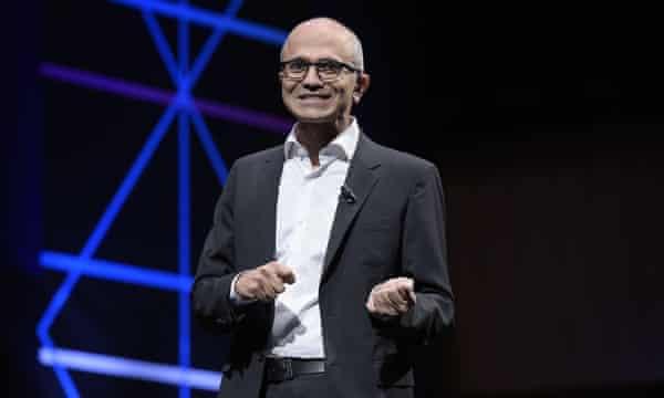 Microsoft CEO, Satya Nadella,