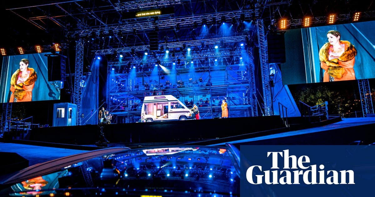 Orchestral manoeuvres in a car park: does ENOs drive-in opera hit the high notes?
