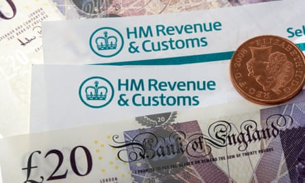 HMRC letters and money
