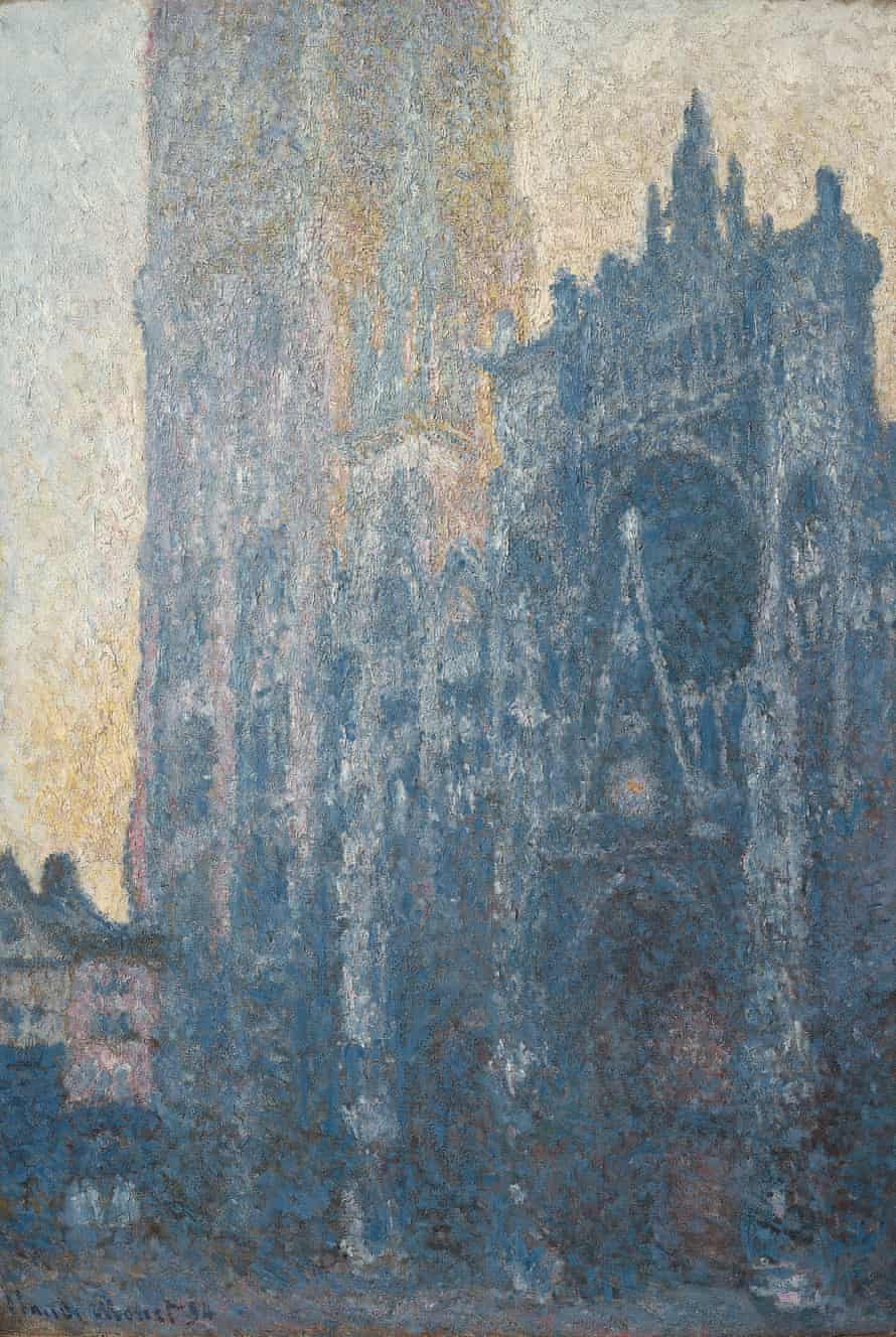 Rouen Cathedral: The Portal (Morning Effect), 1894, by Claude Monet.
