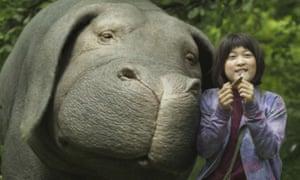 Okja … not enjoyable at double speed.