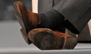'Brown shoes show someone at ease with themselves.'
