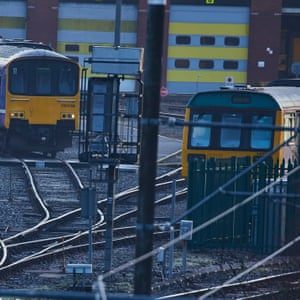 Northern Rail trains in Manchester: there's a 6:1 spending ratio in favour of London over the north when it comes to transport infrastructure