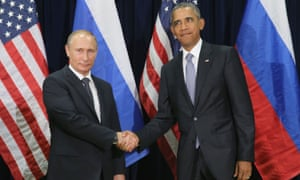 'Putin and Obama's public handshake was a terse and stiff occasion.'