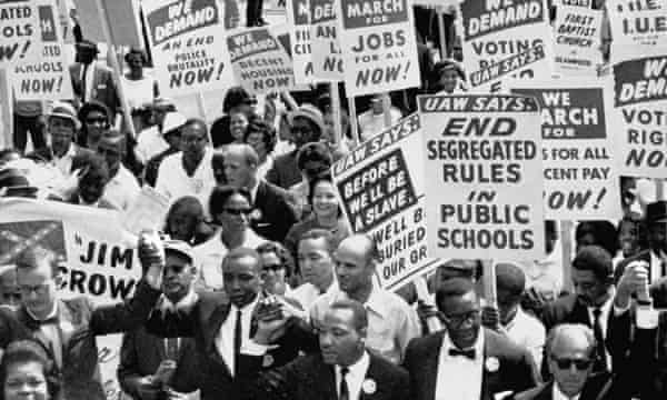 Martin Luther King The Story Behind His I Have A Dream Speech Martin Luther King The Guardian