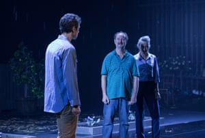 Tim Walter (Mark), Paul Blackwell (Bob), and Eugenia Fragos (Fran) in the global premiere of Andrew Bovell's new play Things I Know To Be True