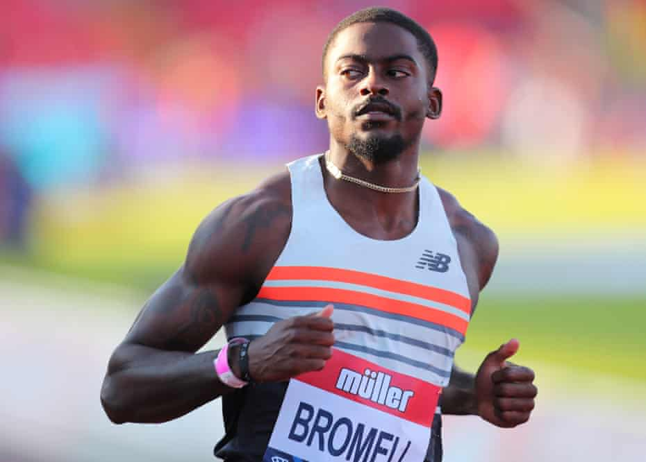 Us sprinter trayvon bromell (© getty images). Trayvon Bromell Gold Will Be Great But My Biggest Purpose Is Change Tokyo Olympic Games 2020 The Guardian