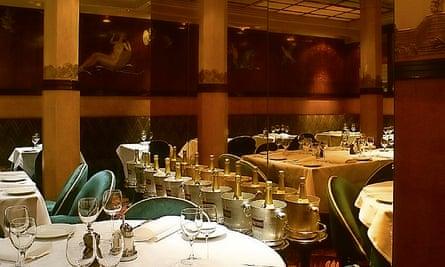 Photograph of Rogano restaurant