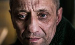 Mikhail Popkov during Monday's court hearing in Irkutsk