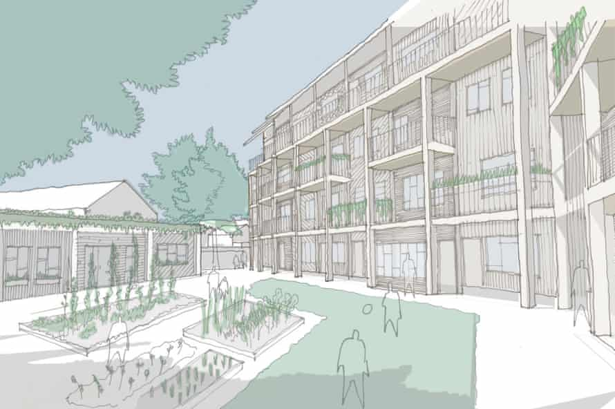 Architype's proposal for new self-build affordable housing in Ladywell