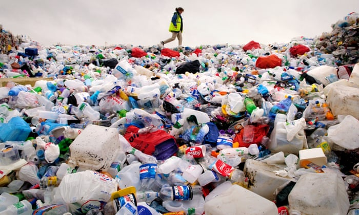 I collected my plastic waste for a year, and learned the