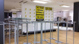 BHS branch in Wood Green, North London. BHS stores prepare to close more than 30 stores with hundreds of staff redundancies under threatened as the British retailer fails to find a new buyer BHS Store closures, London, UK - 24 Jul 2016