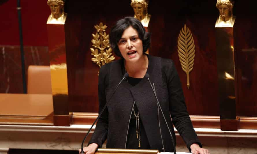 Myriam El Khomri, pictured in the French national assembly in 2016