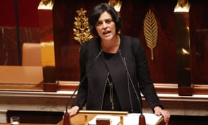 The French labour minister, Myriam El Khomri