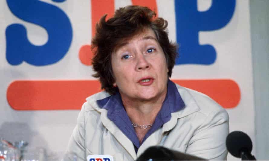 Shirley Williams in 1981.