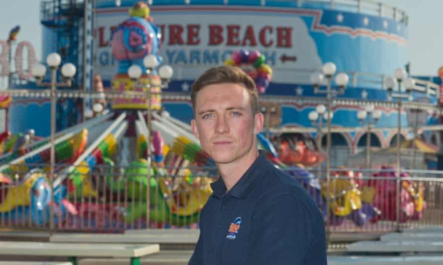 Aaron Jones, co-director of Great Yarmouth's Pleasure Beach park.