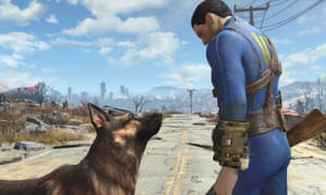 Fallout4, winner of Best Game at the British Academy Games Awards