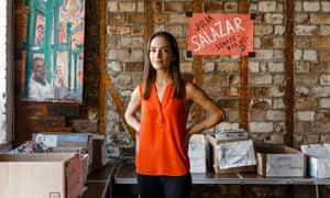 Julia Salazar: 'Because I was thrown in the deep end, I had to swim.'