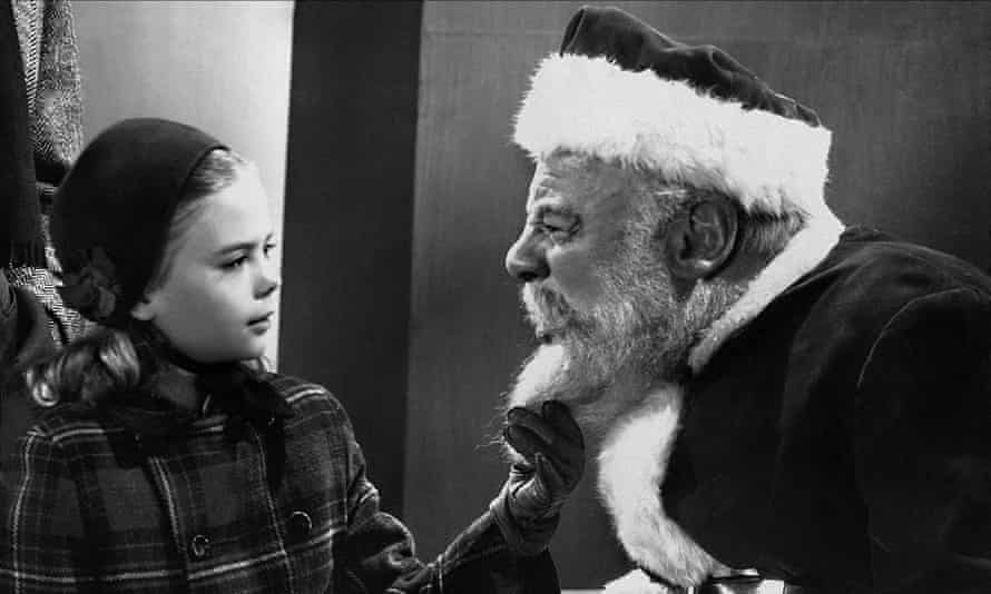 One for the traditionalists: Natalie Wood and Edmund Gween in Miracle on 34th Street.