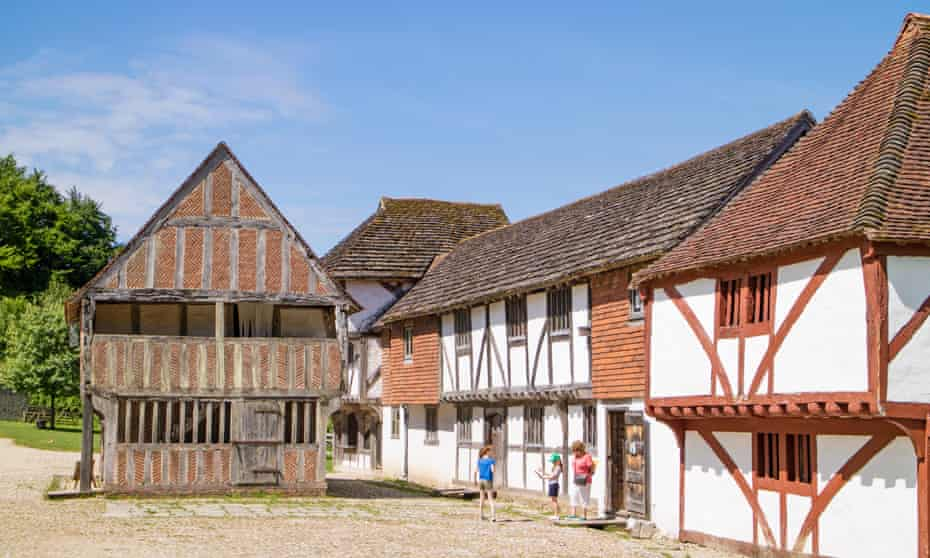 timber-frame buildings at Weald and Downland Living Museum