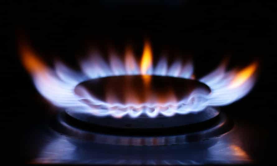 A gas hob