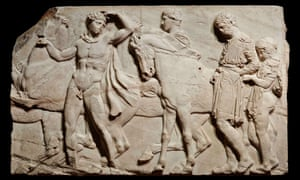 The greatest … a block from the north frieze of the Parthenon.