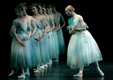 Traditional … Agnes Oakes performs Giselle for English National Ballet in 2007.