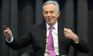Former prime minister Tony Blair: 'It's eerily familiar to anyone who's just watched the debacle unfold in the British Labour party and our election defeat in the UK.'