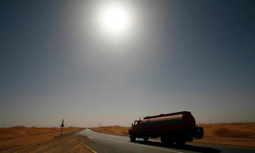 Abu Dhabi heatwave