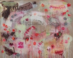 Proserpina, 2013, by Joan Snyder
