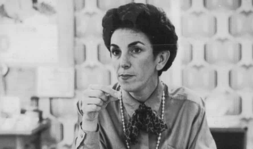 Edwina Currie, the MP who started the salmonella in eggs scare in 1988.