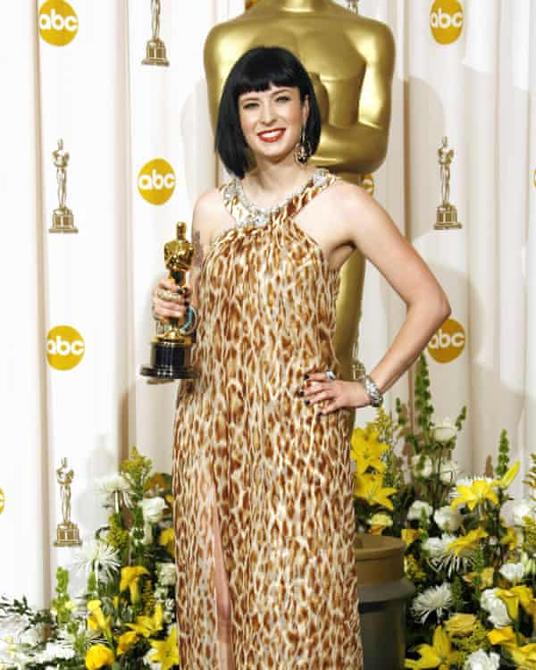 Cody with her Oscar in 2008.