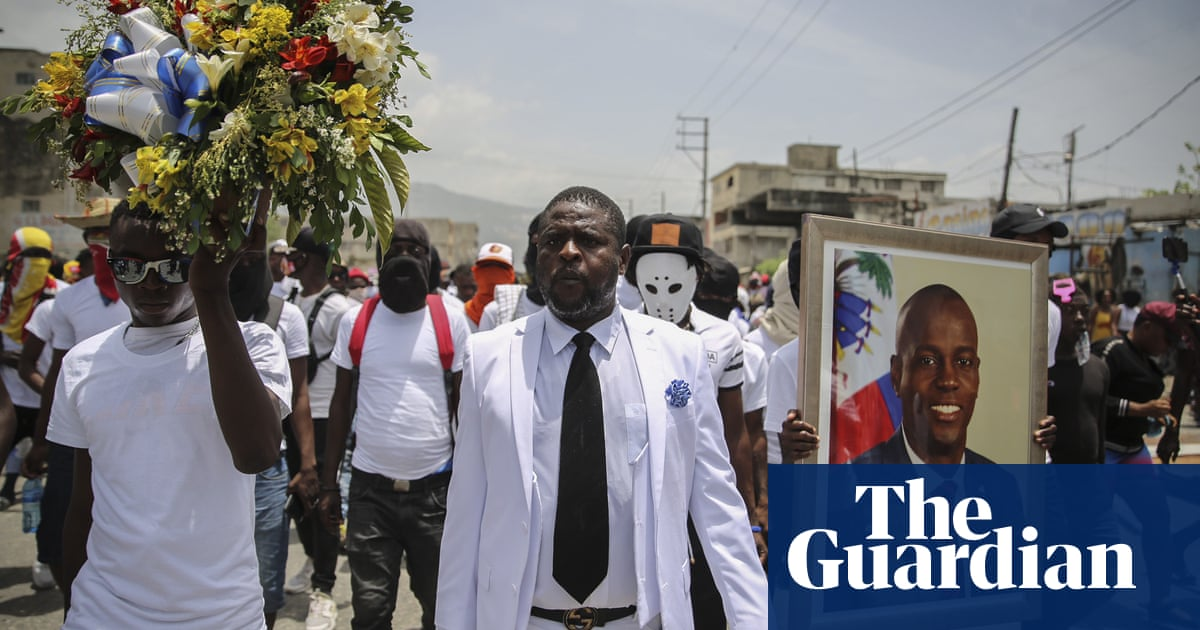 Haitian prime minister forced to flee official ceremony after armed gangs appear