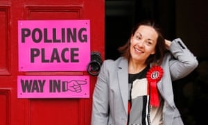 Kezia Dugdale, seen here during the election, is expected to join the rest of the I'm a Celebrity contestants later this week.