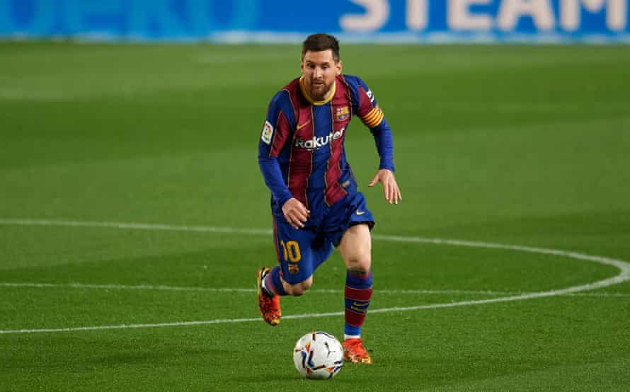 Lionel Messi has been the best player for Barcelona this season but his contract expires in the summer.