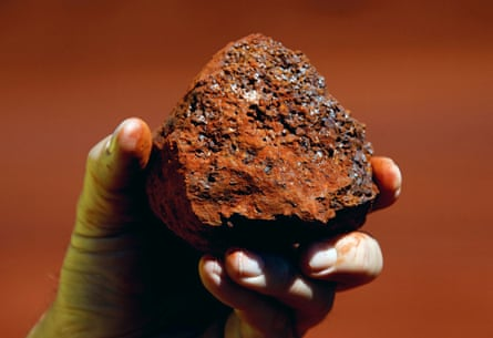 Thanks to iron ore, Australia is China's sixth-biggest source of imports.