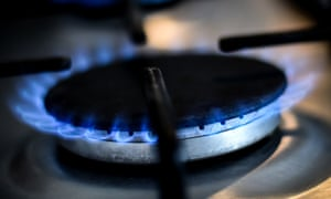 Gas ring on a home cooker