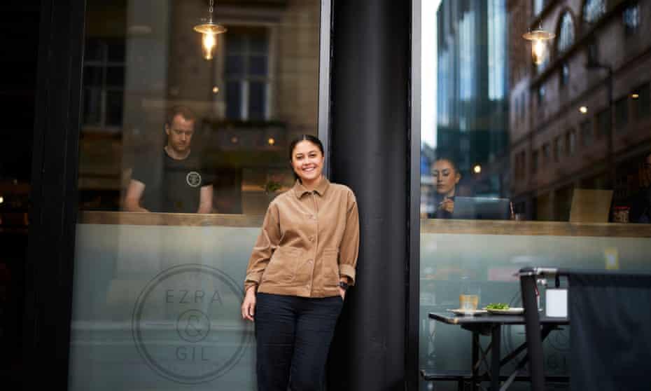 Lindsay Valentine, manager at Ezra & Gil cafe on Peter Street, Manchester