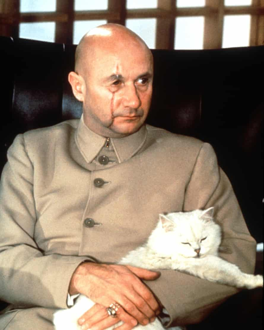 New enemy … Donald Pleasence as Blofeld in 1967's You Only Live Twice.