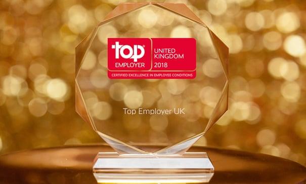 Top Employers UK 2018 | Guardian Careers | The Guardian