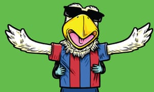 Pete the Eagle, the Crystal Palace mascot