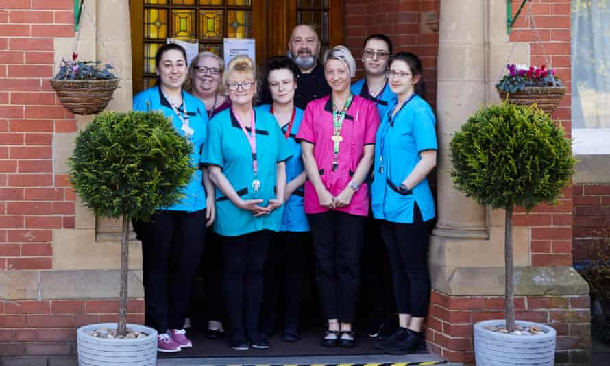 Bridgedale House care home in Sheffield, where staff are locked in with residents
