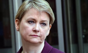 Yvette Cooper said that she had informed police and Twitter of the threat.