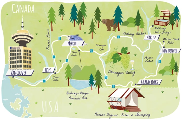 British Columbia road trip: the art of getting lost   Travel   The