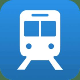 Live train times uk icon.