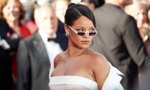Rihanna in Cannes in 2017