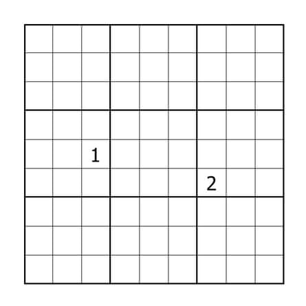 Puzzle by Mitchell Lee. To solve this puzzle online go here, to solve it with pencil and paper print out this page