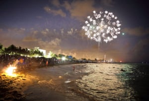 Miami Beach,  US Independence Day celebrations