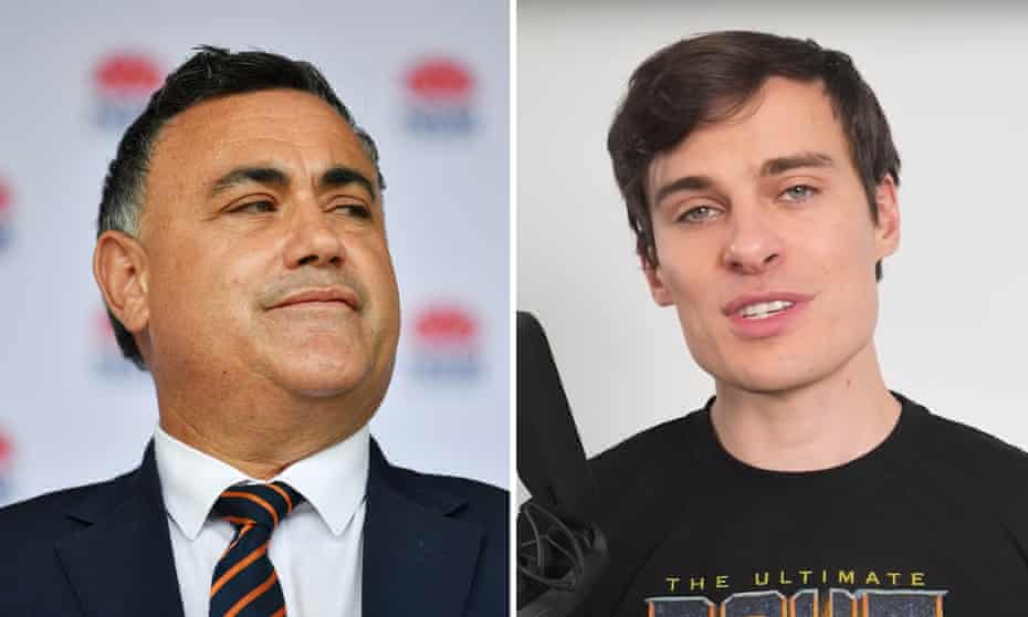 John Barilo's defamation case against Youtube star Jordan Shanks, also known as Friendlyjordies, came before the federal court for a pre-trial hearing on Friday.
